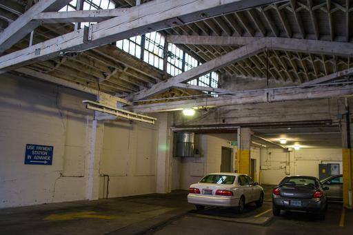 Garage collectif payant