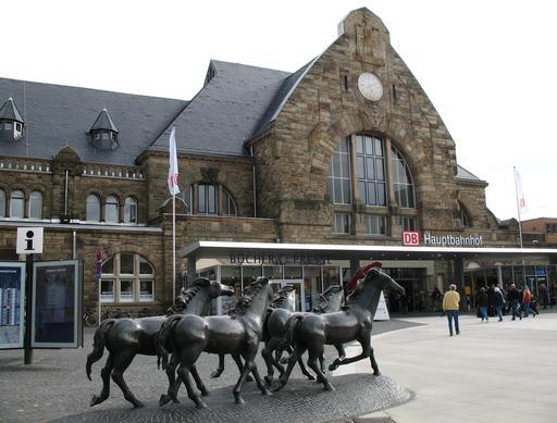 Gare d'Aix-la-Chapelle en Allemagne
