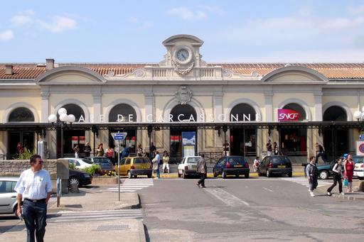 Gare de Carcassonne de 1857