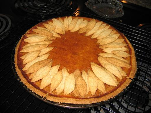 Gâteau à la citrouille décoré