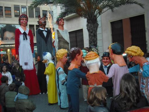 Géants et grosses têtes à Torrevieja