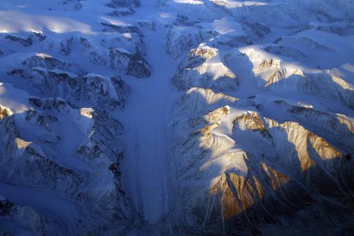 Glacier du Groenland