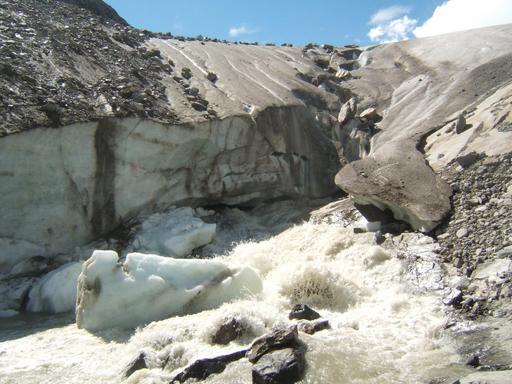 Glacier Schlatenkees en Autriche