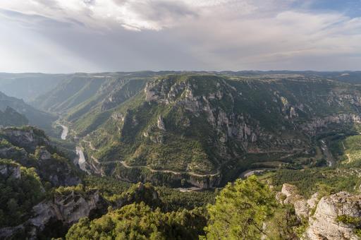 Gorges du Tarn Roc des Hourtous