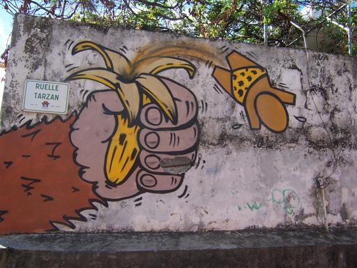 Gouzou et Tarzan à La Réunion