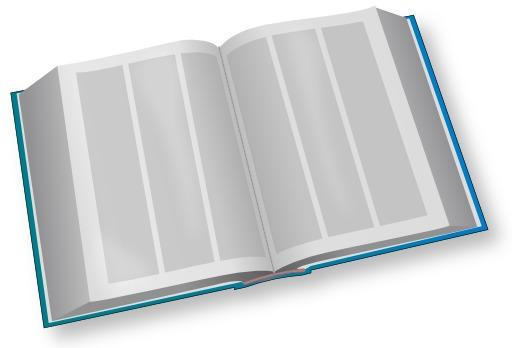 Grand livre bleu