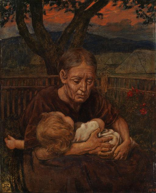 Grand-mère en 1892