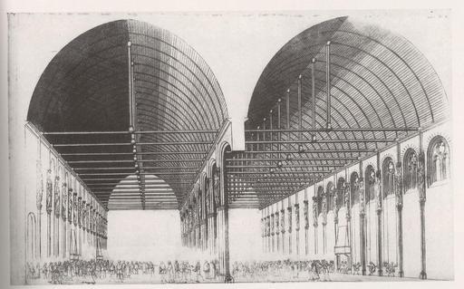 Grand'Salle du Palais de la Cité à Paris