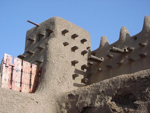 Grande Mosquée de Djenné au Mali