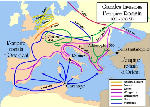Grandes invasions de l'Empire romain