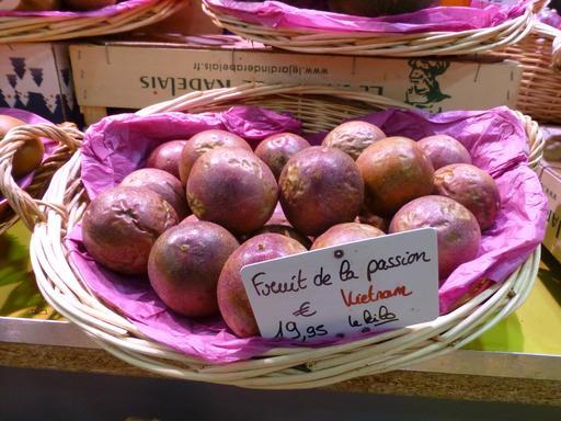 Grenades au marché couvert de Nancy