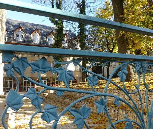 Grille de parc à Nancy