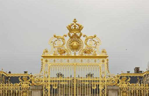 Grille dorée du château de Versailles