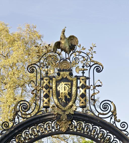 Grille du Coq au Palais de l'Élysée