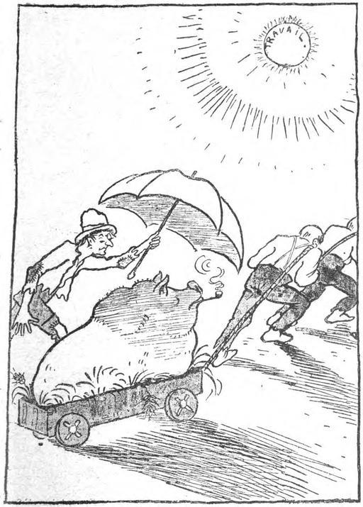 Gros cochon, le Père Peinard