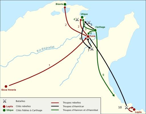 Guerre des mercenaires à Carthage