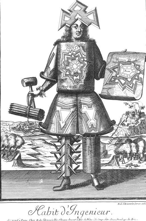 Habit d'ingénieur au 17ème siècle