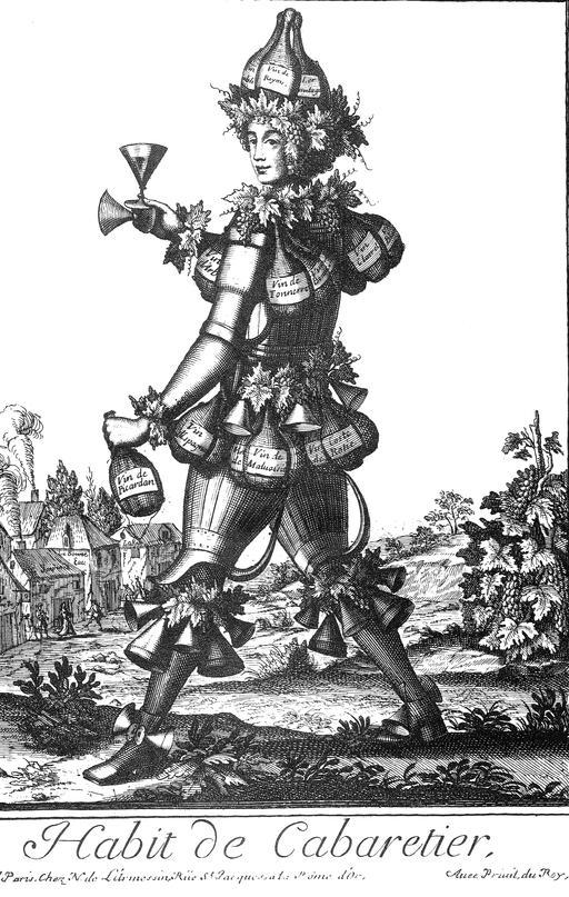 Habit de cabaretier au 17ème siècle