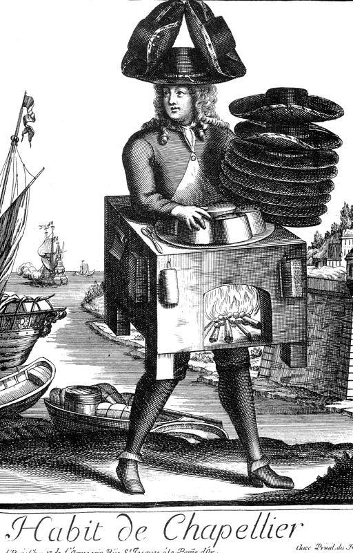 Habit de chapelier au 17ème siècle