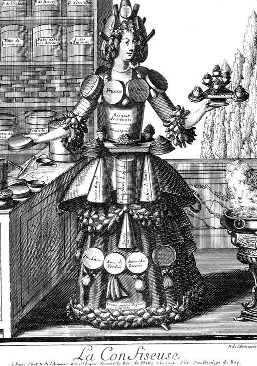 Habit de confiseuse au 17ème siècle