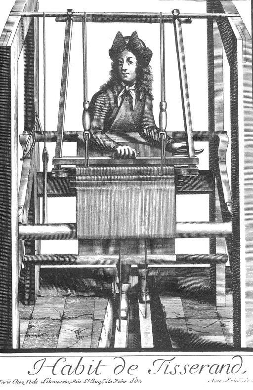 Habit de tisserand au 17ème siècle