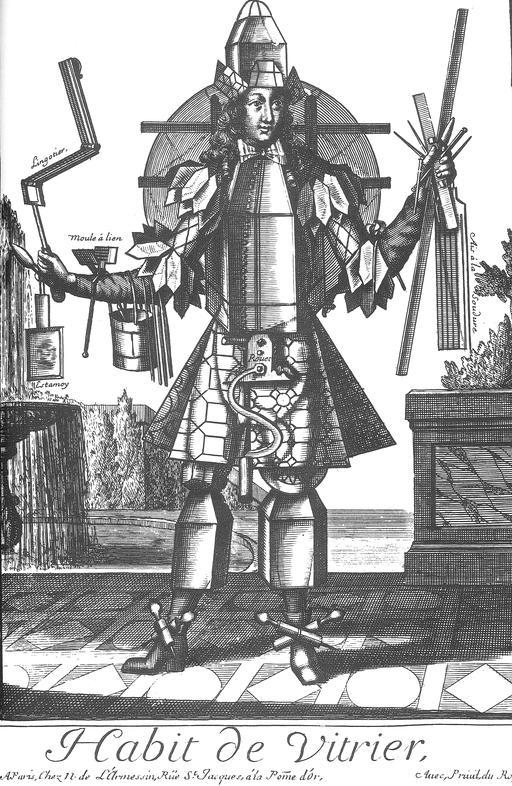 Habit de vitrier au 17ème siècle