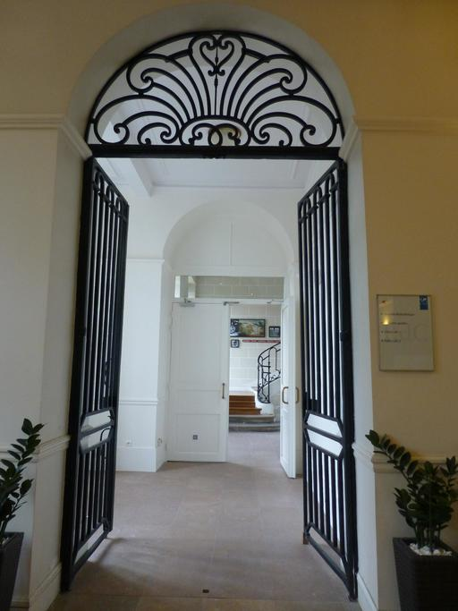 Hall d'entrée de la Manufacture de porcelaine de Sèvres