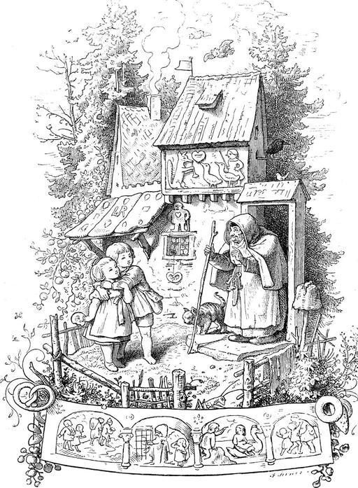 Hansel et Gretel en 1903