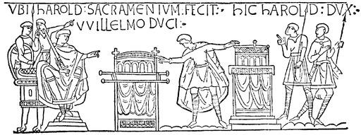 Harold sur la Tapisserie de Bayeux