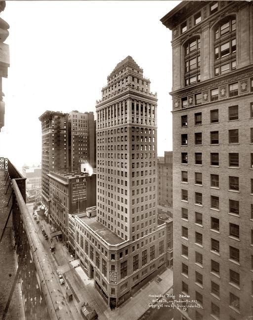 Heckscher Building à NY en 1916