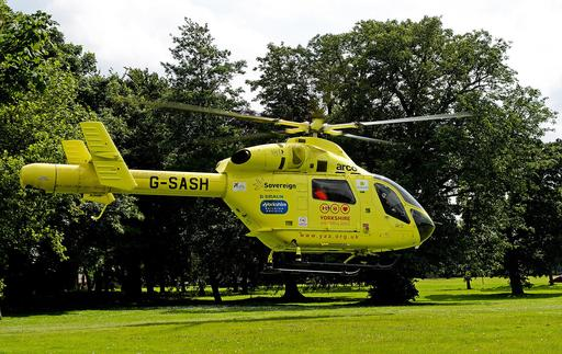Hélicoptère ambulance