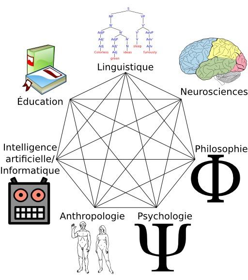 Heptagramme des sciences cognitives