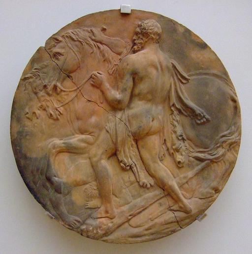 Hercule et les juments de Diomède