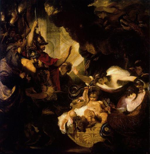 Hercule et les serpents en 1788