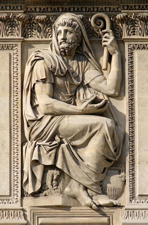 Hérodote au Louvre