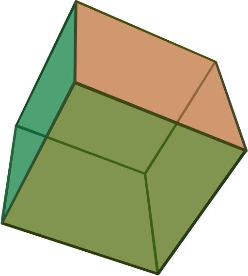 Hexaèdre régulier, le cube