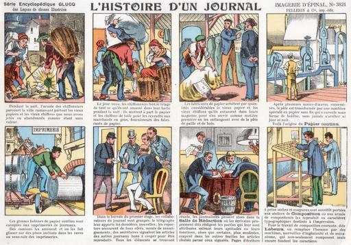 Histoire d'un journal en vignettes - 01