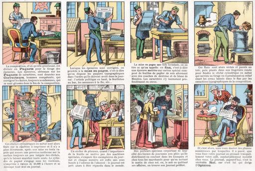 Histoire d'un journal en vignettes - 02