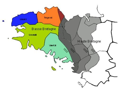 Histoire des dialectes bretons