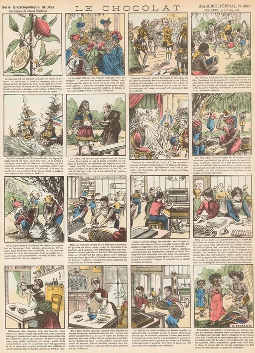 Histoire du chocolat en seize vignettes