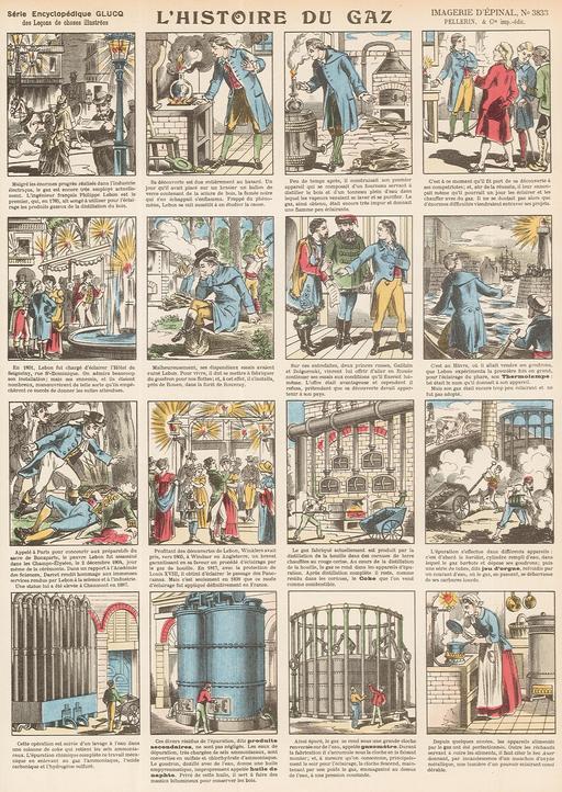 Histoire du gaz en seize vignettes