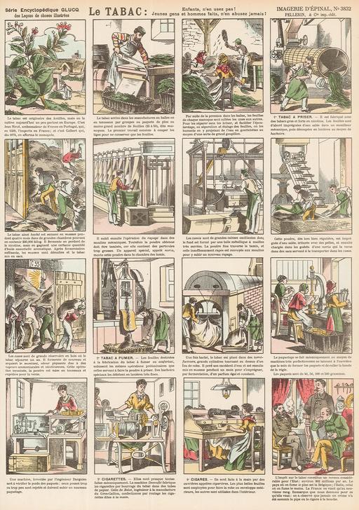 Histoire du tabac en seize vignettes