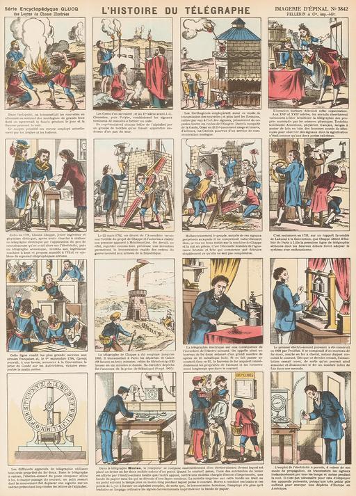 Histoire du télégraphe en seize vignettes