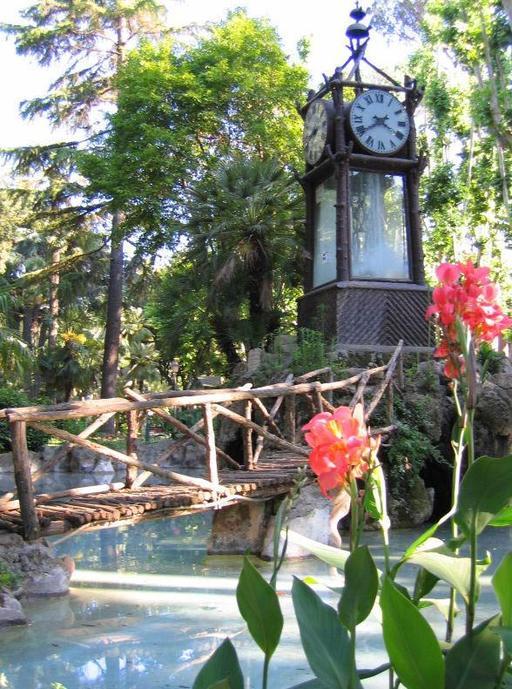 Horloge à eau à Rome