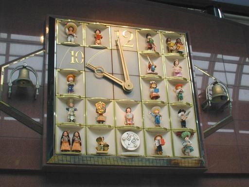 Horloge à marionnettes