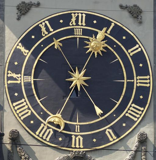 Horloge astronomique de Zytglogge à Berne