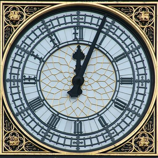 Horloge de Big Ben à Londres