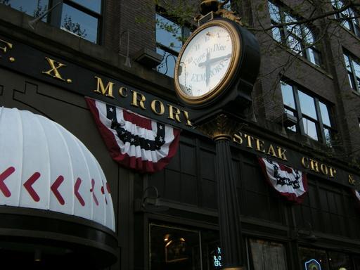 Horloge de F.X. McRory