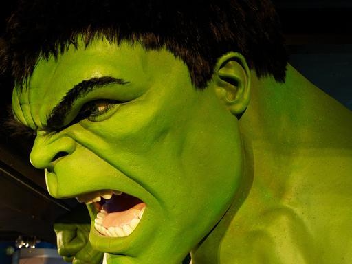 Hulk hurle de rage
