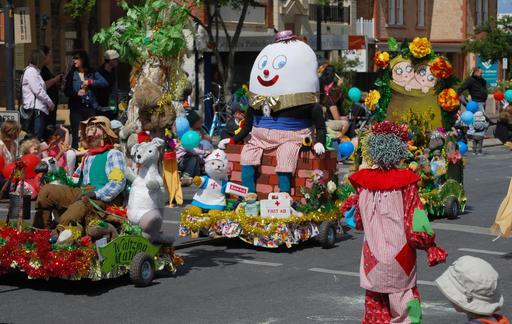 Humpty Dumpty au défilé de Norwood